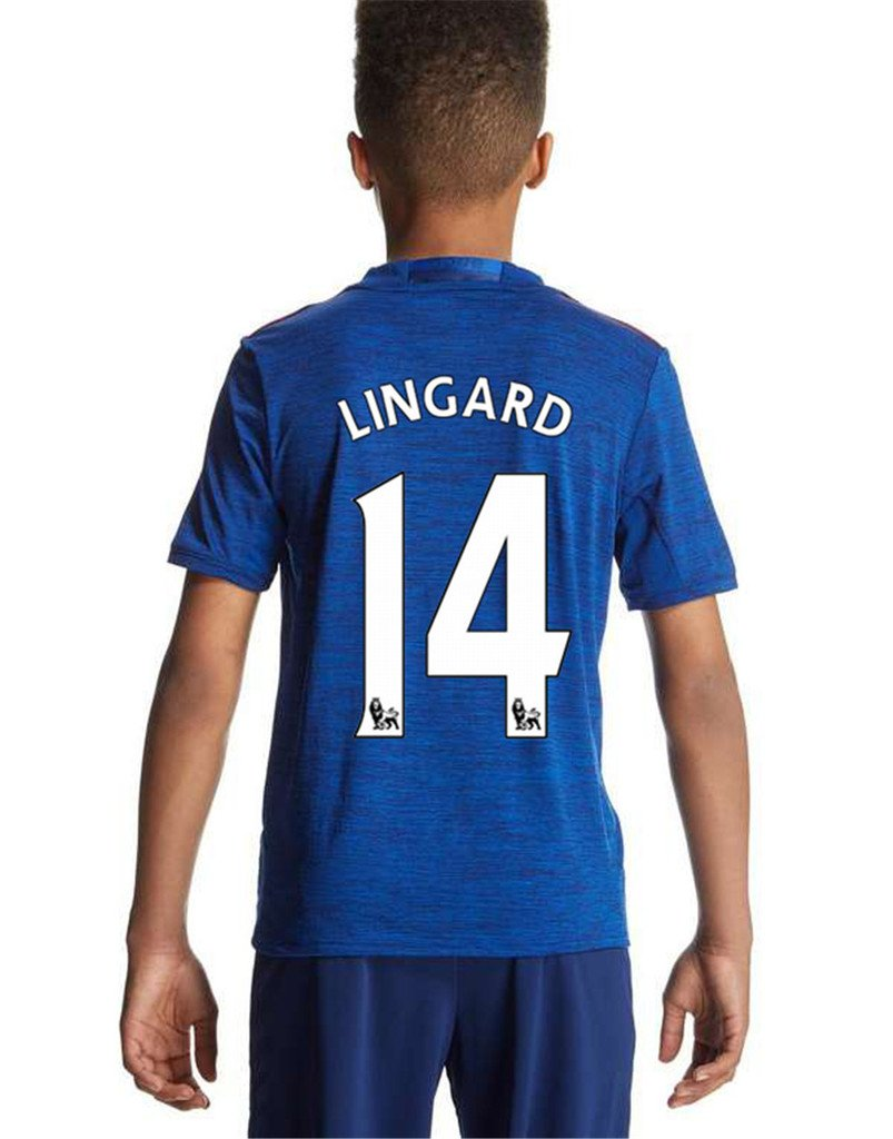 reputable site 6289a bd4ce Manchester United FC 14 Jesse Lingard Away Football Soccer ...