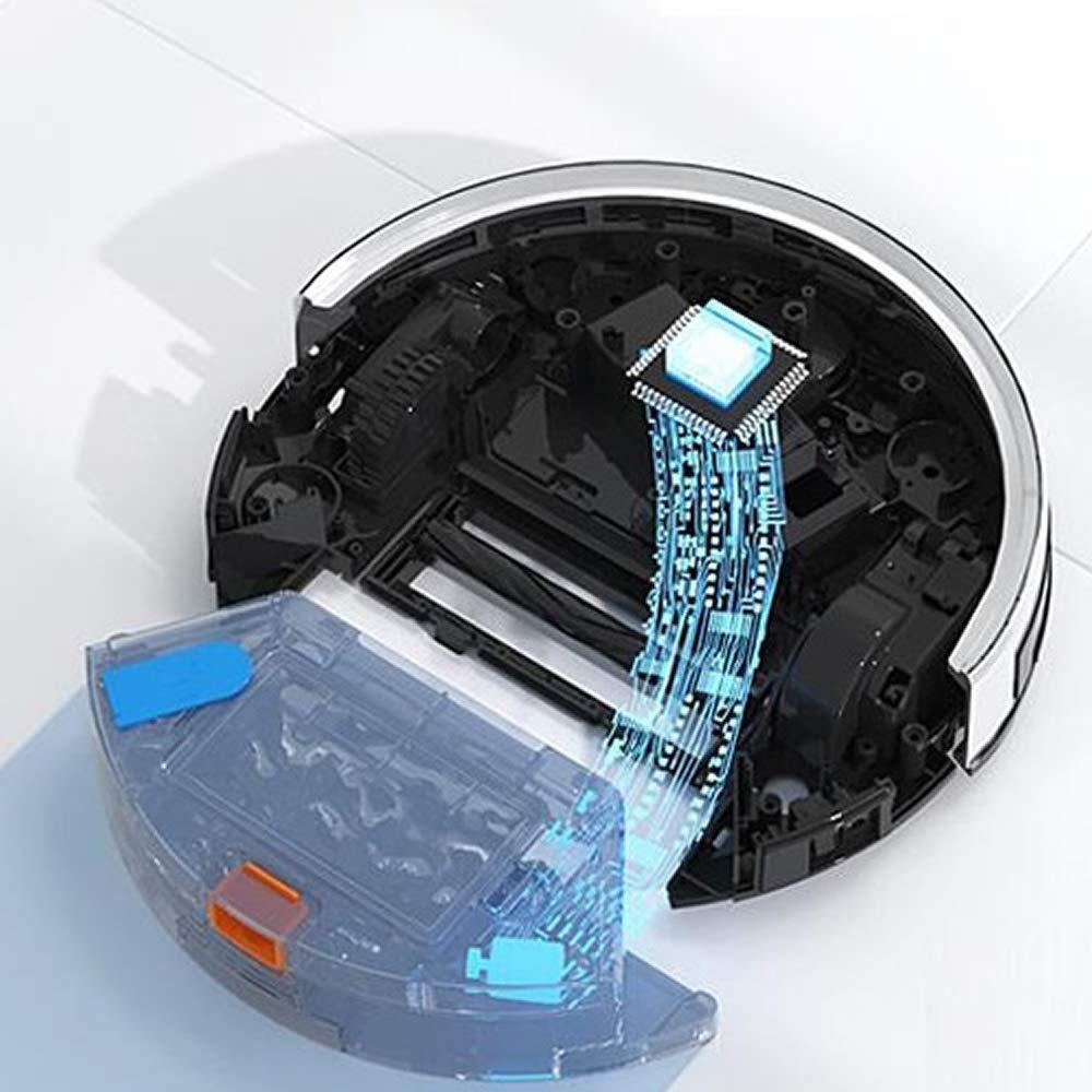 DynaSun Home E30B - Robot aspirador con función de limpieza Alexa y Google Home: Amazon.es: Hogar