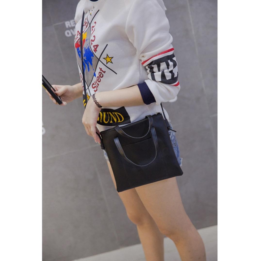 Medium Handbags Simple Crossbody Shoulder Bags with Zipper for Women Casual Satchel Work Travel Bags
