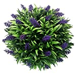 WINOMO-30cm-Lavender-Ball-Topiary-Artificial-Hanging-Ball-Shaped-Topiary-for-Indoor-Outdoor-Decor