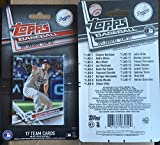 2017 Topps Factory Los Angeles Dodgers Team Set 17 Cards Corey Seager Clayton Kershaw Adrian Gonzalez Yasiel Puig