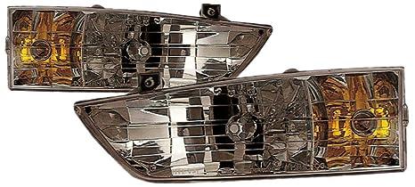 For 1992 1993 1994 1995 1996 1997 Ford Aerostar Headlight Headlamp Pair Set