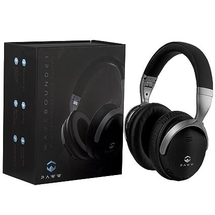 3e8b932e34a Paww WaveSound 2.1 Wireless Bluetooth Over-The-Ear Foldable Headphones/ Headset with Mic