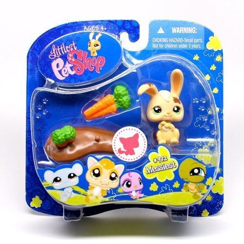 Littlest Pet Shop * Messiest * Bunny Rabbit