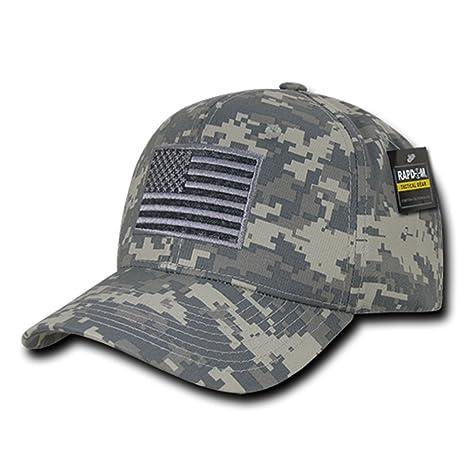 Rapdom Tactical USA Embroidered Operator Cap - ACU Camo