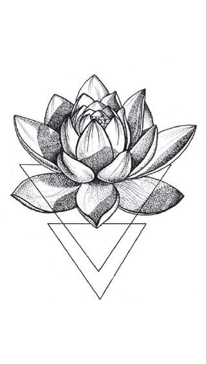 ZQHY Etiqueta Engomada Del Tatuaje Rosa Etiqueta Impermeable ...