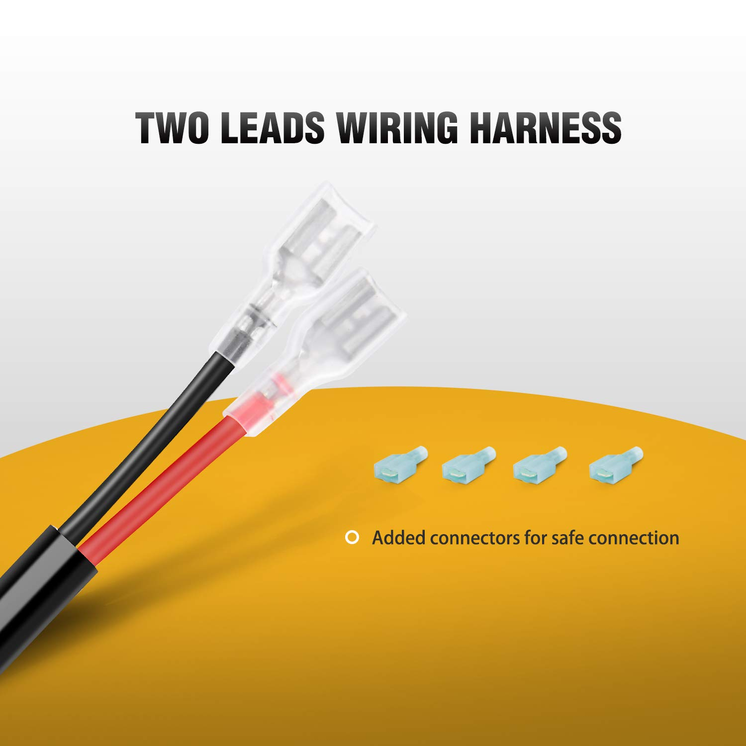 Wire Harness Fixtures Best Wiring Library Diagram 1976 Trojan Boat Amazoncom Gooacc Off Road Led Light Bar Kit 12v On