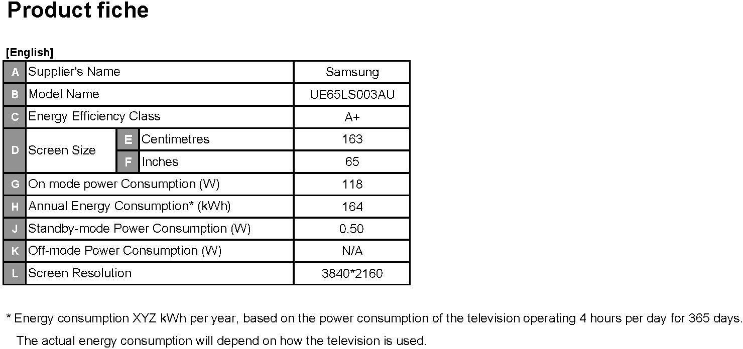 Samsung LS003 The Frame 163 cm (65 Zoll) LED Lifestyle Fernseher ...