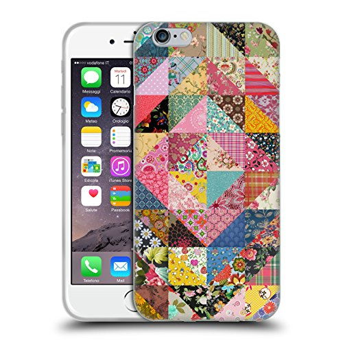 Official Rachel Caldwell Quilt Patterns Soft Gel Case for iPhone 6 / iPhone 6s
