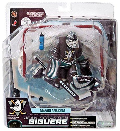 McFarlane NHL Series 7: Jean-Sebastien Giguere Anaheim Mighty Ducks Goalie DARK VARIANT Jersey ()