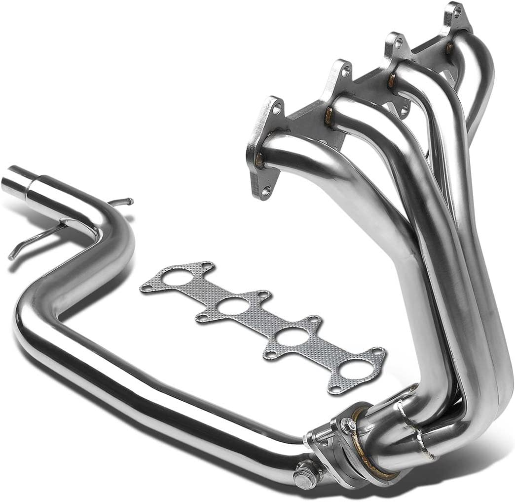 Black For Chevy Cavalier//Pontiac Sunfire 2.2L LN2 4-1 Stainless Steel Header//Exhaust Manifold