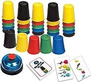 nurrat Practical Desktop Toys Children Stacking Cup Game Speed Challenge Funny Toy Handheld Games