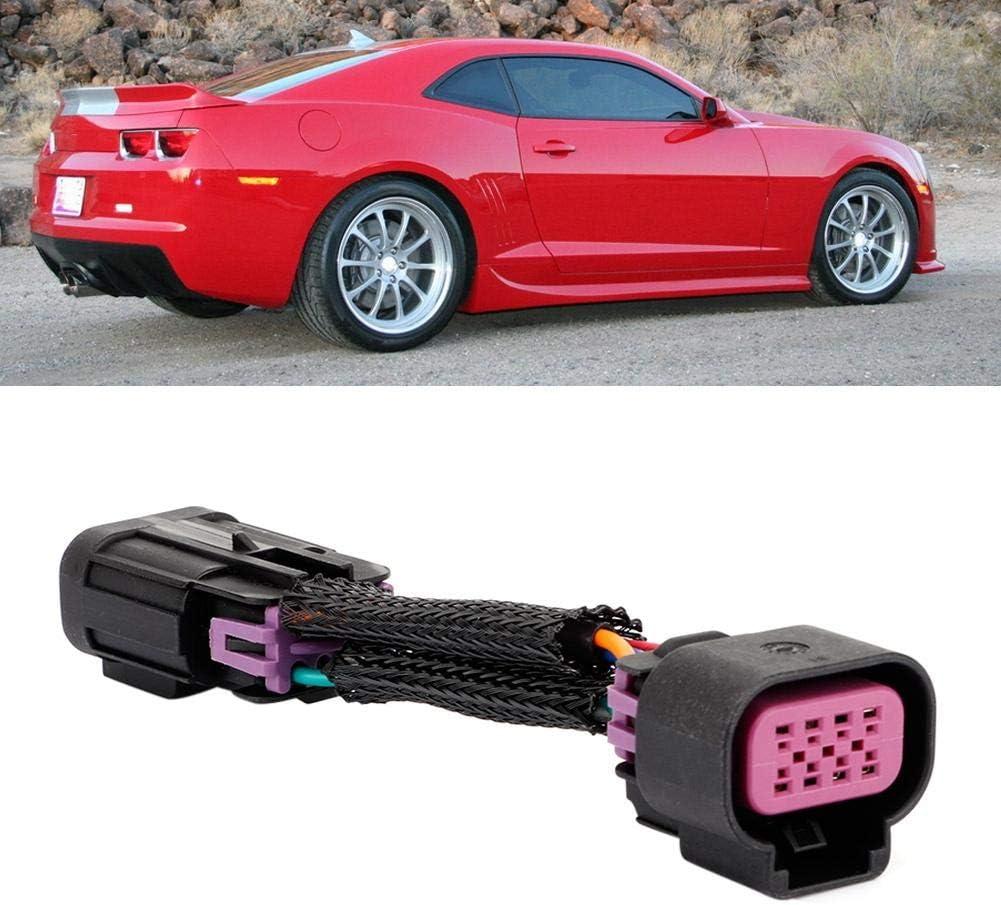 Fydun Car DRL Faros Luces de Antiniebla Adaptador de faro Plug and Play para Camaro 2010-2013 APS