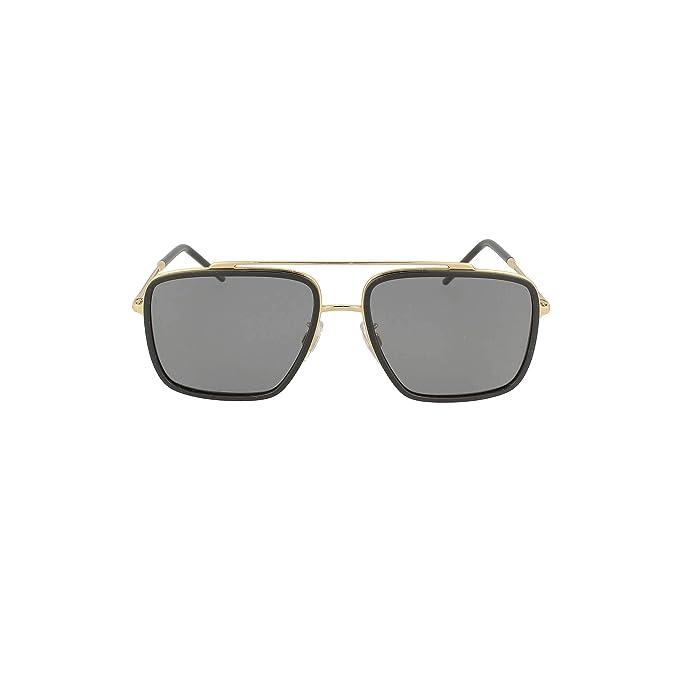 Dolce & Gabbana 0DG2220 Gafas de sol, Gold/Black, 57 para ...