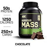 Optimum Nutrition Serious Mass,(No S A) Choc 6Lb 4/Cs