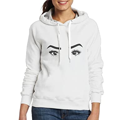 d16c36846 Amazon.com: Nice Liza Adult Girl/Women Koshy Beautiful Eye Pullover Hoodies  Up 15 Years Old: Clothing