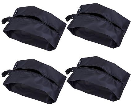 2ea412a4ec Image Unavailable. Image not available for. Color  MISSLO Portable Nylon  Travel Shoe Bags ...