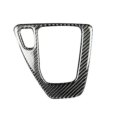 censhaorme Carbon-Faser-Gangschaltung Steuerung Abdeckung Trim Auto-Zusatz-Dekor-Aufkleber für BMW 3er E90 E92 E93 2005-2012 Cuisine & Maison