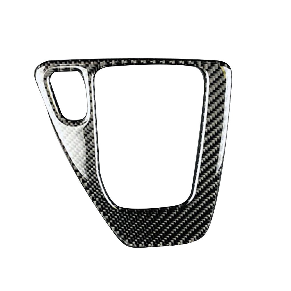 Rekkle In Fibra di Carbonio del Cambio di Copertura Pannello di Controllo Trim Accessori Auto Decor Sticker per BMW Serie 3 E90 E92 E93 2005-2012