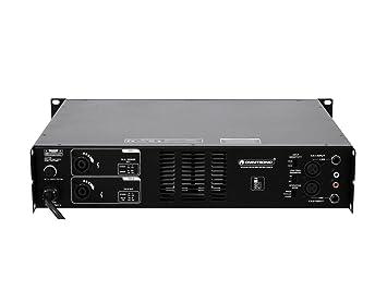 Omnitronic SMA de 1000 Amplificador de 4 canales (Amplificador, ...