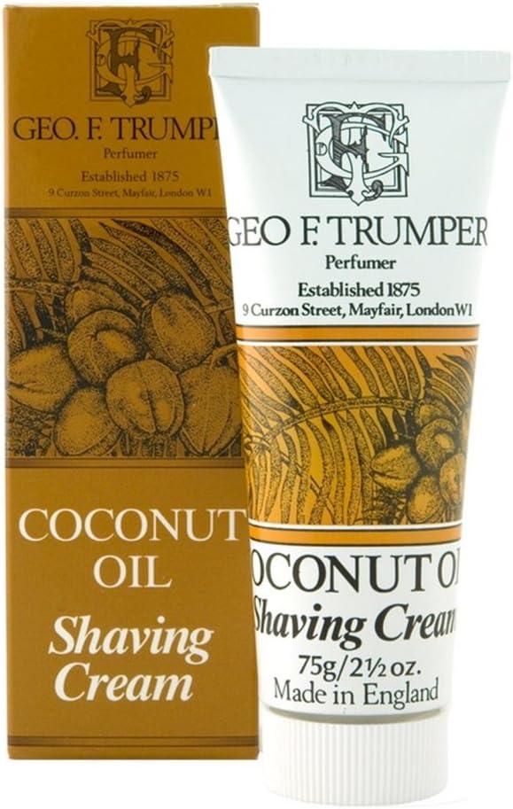 Geo F. Trumper Coconut Oil Soft Shaving Cream 75 g cream
