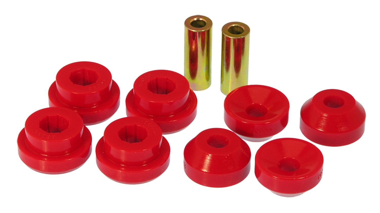 Prothane 8-902 Red Rear Shock Bushing Kit by Prothane