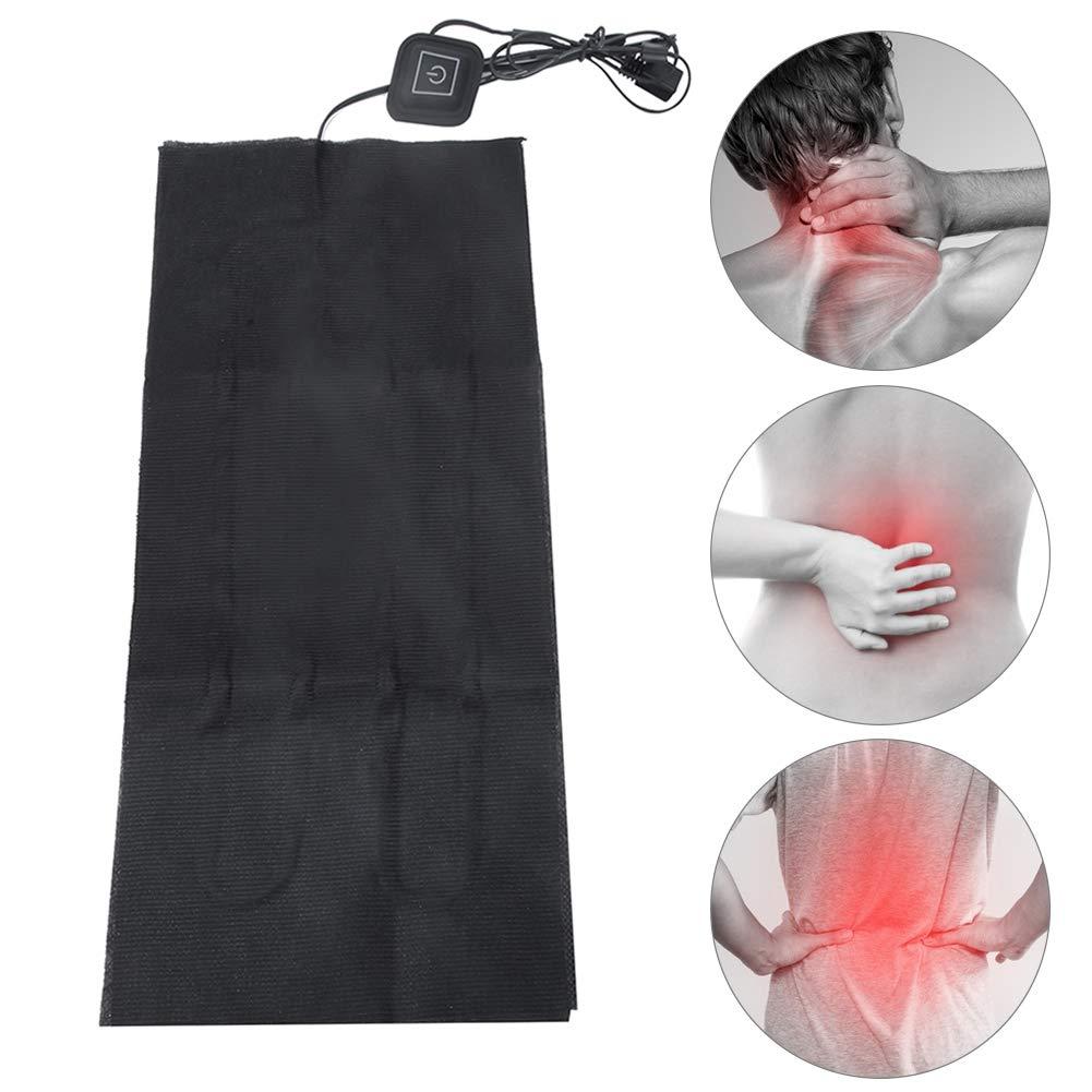 Bicaquu 5v 2a USB Coussin Chauffant /électrique en Tissu Chauffant Taille Coussin Abdomen pour Pet Warmer Accueil