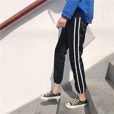 Ckbyth Pantalones Verano Tallas Grandes Para Mujer Pantalones Mujer Dama Elegante Mujer Delgada Cintura Media Hembras Pantalon De Moda Casual Transpirable Amazon Es Deportes Y Aire Libre