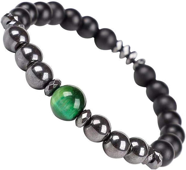 Set di perle dacqua dolce da donna Silvity con strass di lusso: perle e perle di agata 45-47 cm 6 mm colore Bianco//Nero 803901S-20. pietra preziosa: collana di perle orecchini in argento 925 bracciale anello di perle