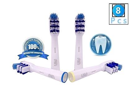FLM TriZone EB30-4 - Cabezal de recambio para cepillo de dientes eléctrico compatibles con