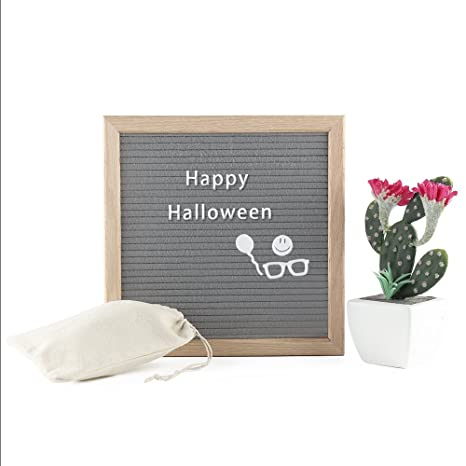 Amazon Com Funny Letter Board With Stand 10x10 Inch Wooden