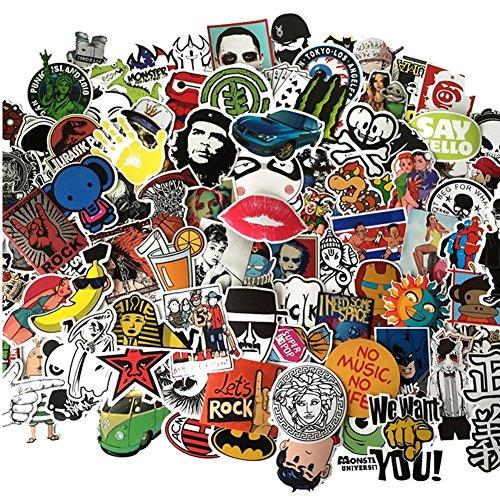 50 500pcs Motorcycle Graffiti Skateboard Stickers product image