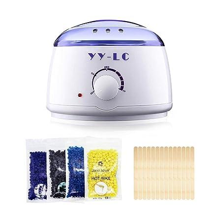 YY-LC Calentador de Cera, Calentador de Cera Caliente Eléctrico para Área Facial y