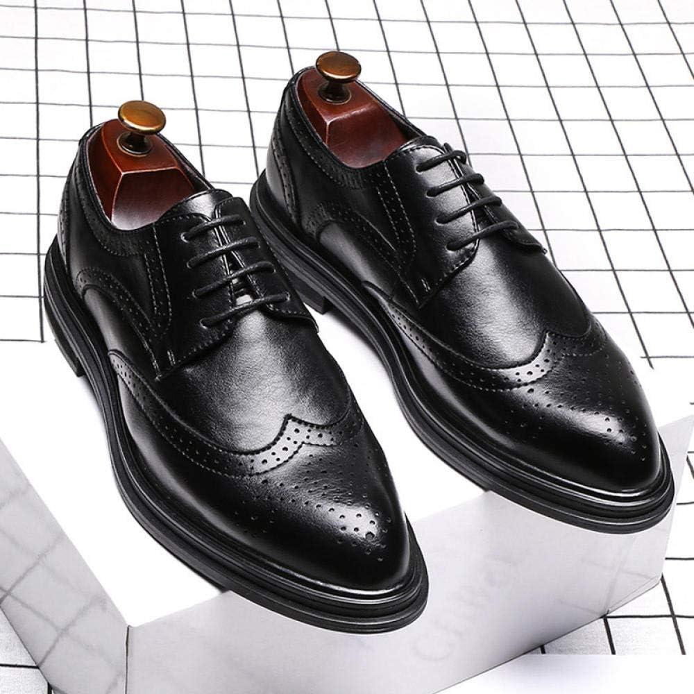 Wsreyj Bottes Et Boots Homme Chaussures pour Hommes Britanniques Noir