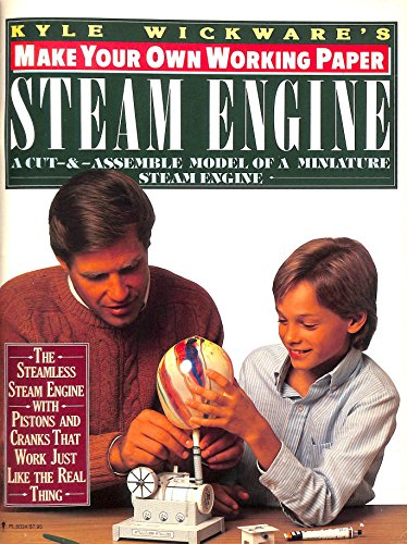 Make Your Own Working Paper Steam Engine (Make Your Own Paper Machine Series)
