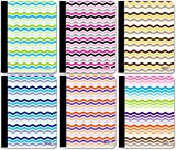 200 Pg. 1-Subject Chevron Composition Notebook 48 pcs sku# 1917737MA