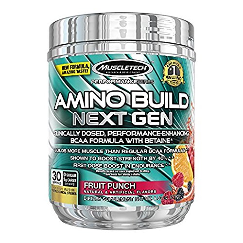 MuscleTech Amino Build Next Gen, Clinically Dosed, Performan