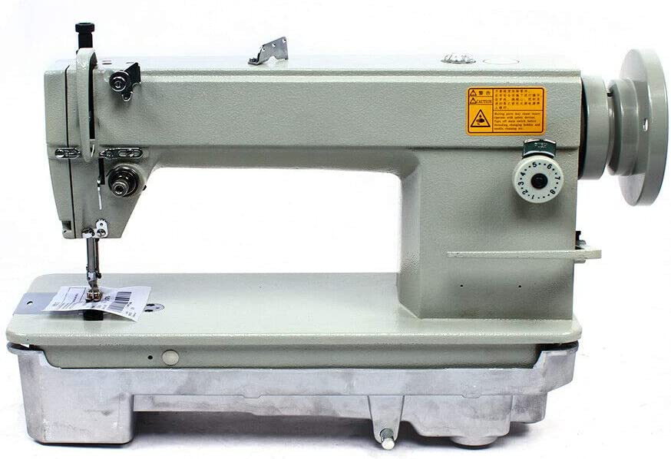 Máquina de coser SM 6-9, 7 mm, piel auténtica, algodón, lonas, cuero, vaqueros, velocidad máxima: 3000 S.P.M, tipo de aguja: DP * 5 n.º 17
