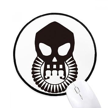 Terror Fangs Biochemica - Máscara de gas para ratón, redonda, antideslizante, bordes con