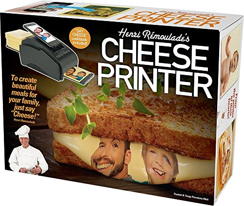 Cheese Printer Prank - Get Your Face On Cheese