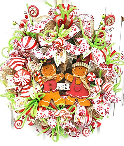 Image result for mesh christmas wreath clip art