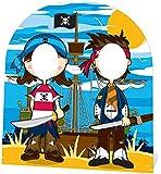 falksson - Cartonati sin rostro pequeños piratas, 120 cm