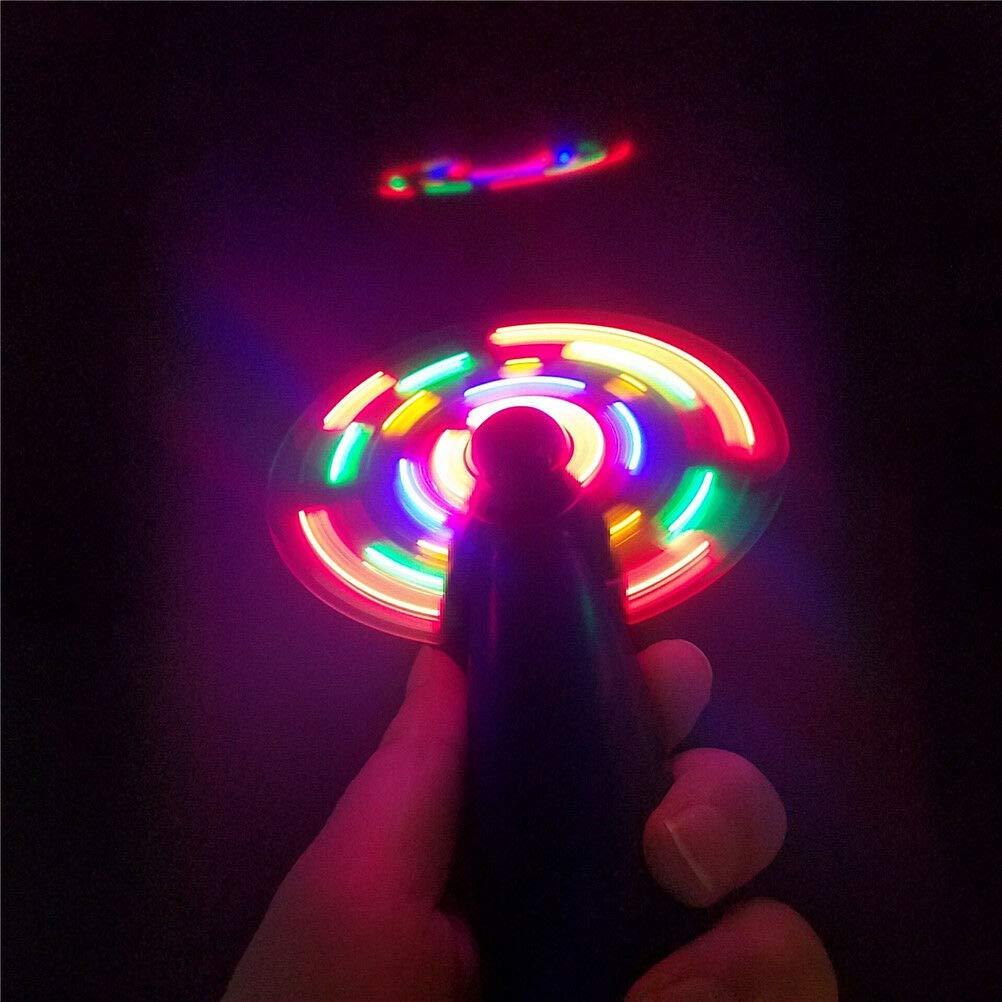 Flash LED Color Matrix Mini Air Cool Fan summer Portable handhold fan JH