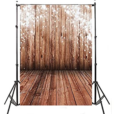 Hotest Sale! 5x7ft Photo Studio Collapsible Wooden theme With Wooden Floor Retro photography background Grade AAAAA Vinyl cloth Backdrop Best For Children,Newborn,Baby,Kids,Wedding,Family decoration