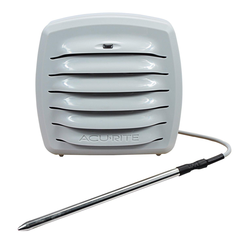 AcuRite 06068M Outdoor Temperature & Humidity Monitor with Liquid & Soil Temperature Sensor