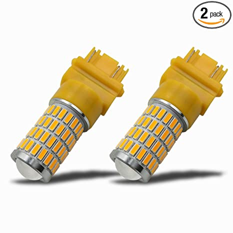 iBrightstar Newest 9-30V Extremely Bright 3156 3157 3057 4157K LED Bulbs replacement for Back Up Reverse Lights or Tail Brake Lights,Xenon White