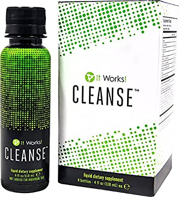 IT WORKS! CLEANSETM - 4 bottles