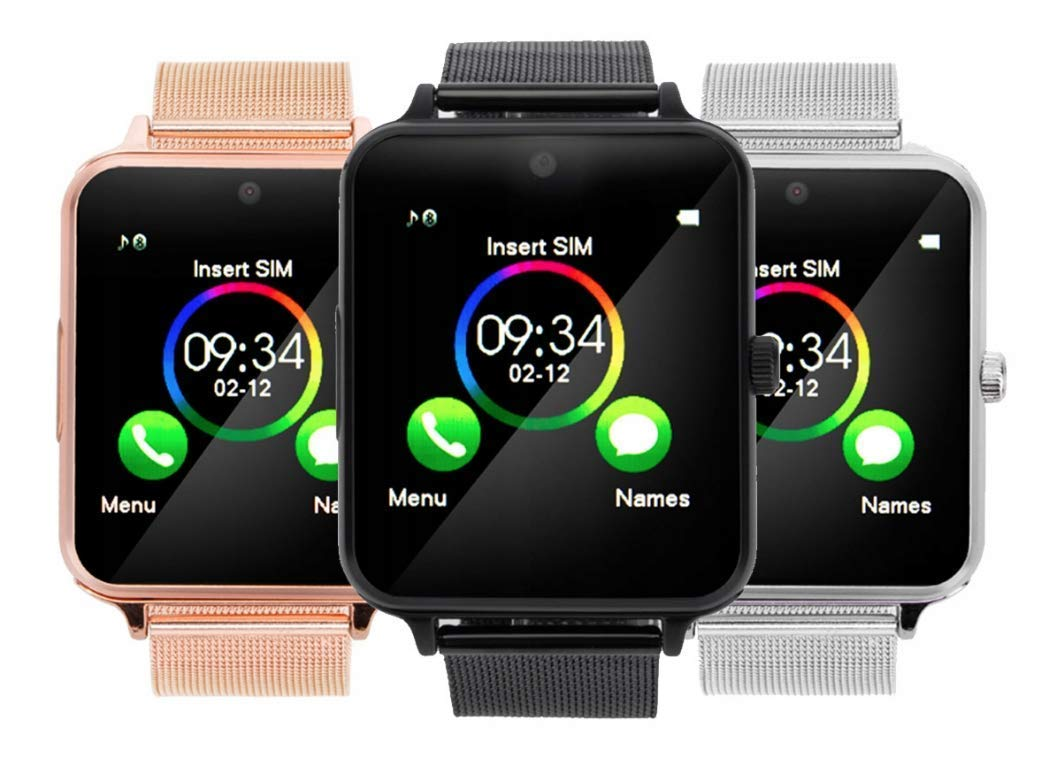 Amazon.com: Bluetooth Smartwatch RONEBERG,Smart Watch ...