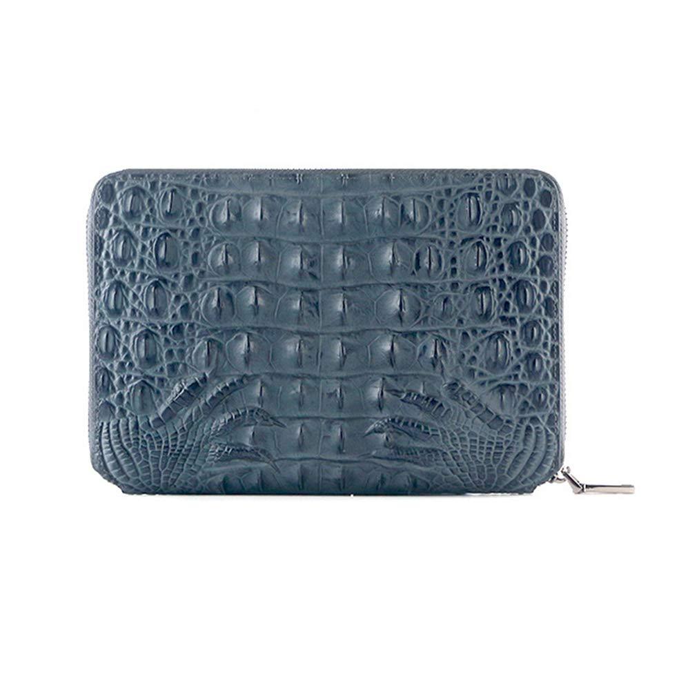 Organizador personal con cremallera caja tamaño A5 y caja cremallera de regalo, color Ash Azul ad629a