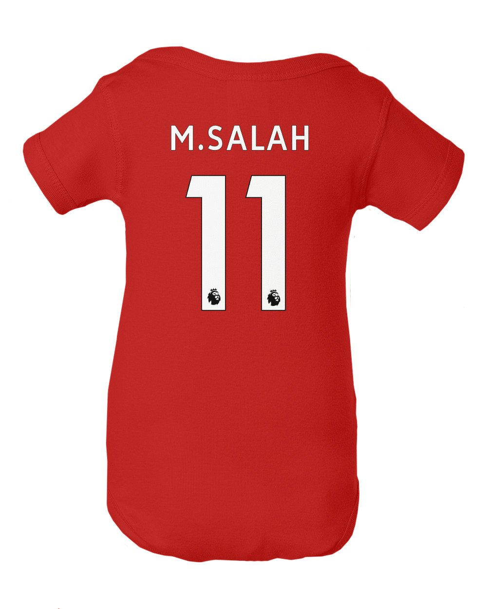 8755675856a ... Tcamp Liverpool  11 Mohamed SALAH Premier League Little Infant Baby  Short Sleeve Bodysuit ...